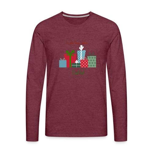 Le plus beau cadeau - T-shirt manches longues Premium Homme