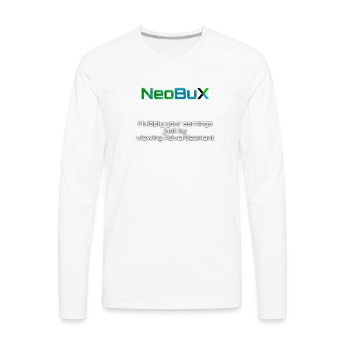 NeoBuX - Men's Premium Longsleeve Shirt