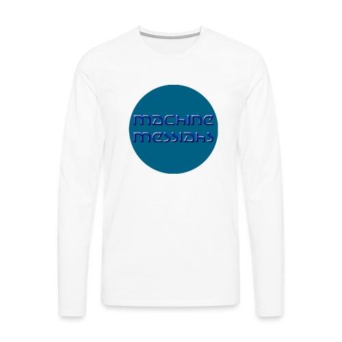 mm - button - Men's Premium Longsleeve Shirt