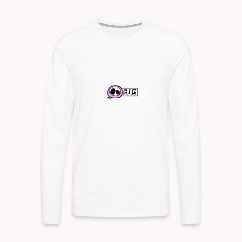 logo_PIGstudio-png - Maglietta Premium a manica lunga da uomo