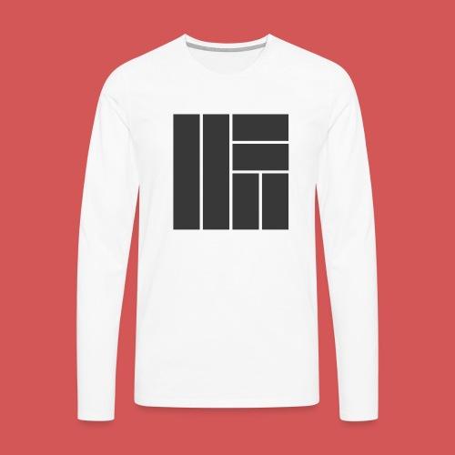 NÖRCup Black Iconic Edition - Men's Premium Longsleeve Shirt