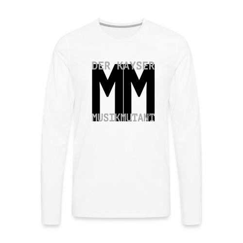 Der Kayser - Musikmutant - Bandshirt - Männer Premium Langarmshirt