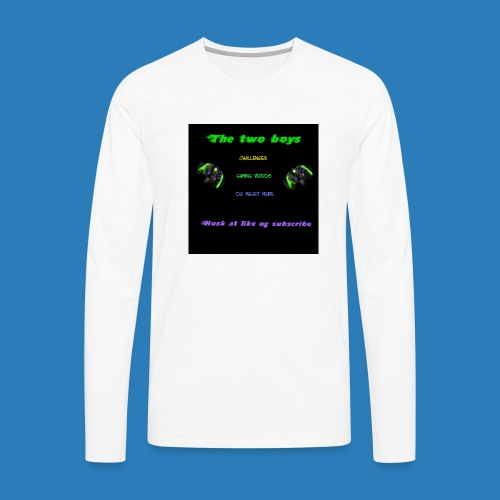 LUISJAKUBINTRO-jpg - Herre premium T-shirt med lange ærmer