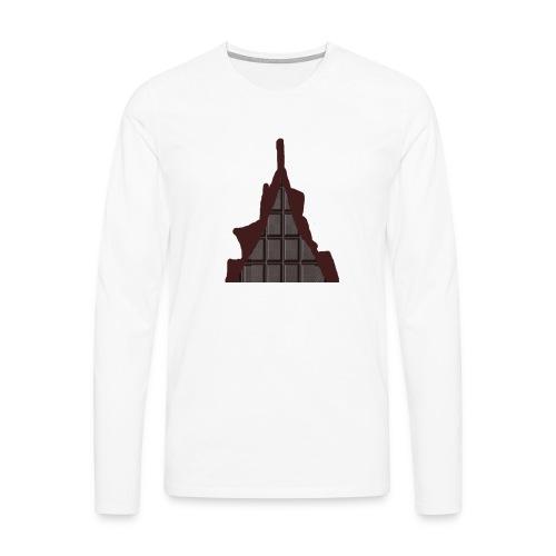Vraiment, tablette de chocolat ! - T-shirt manches longues Premium Homme