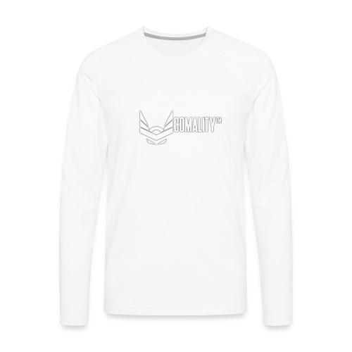 T-SHIRT   Comality - Mannen Premium shirt met lange mouwen
