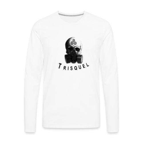 Trisquel - Camiseta de manga larga premium hombre