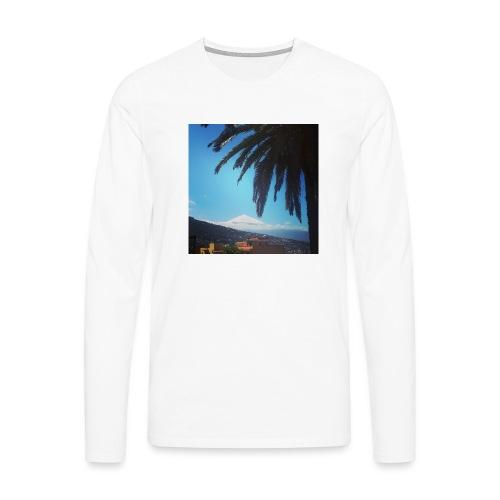 Islas Tenerife - Maglietta Premium a manica lunga da uomo