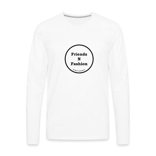 Friends N Fashion Tee - Herre premium T-shirt med lange ærmer