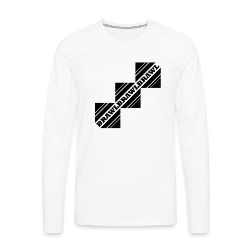 BRAWL TEST - Mannen Premium shirt met lange mouwen