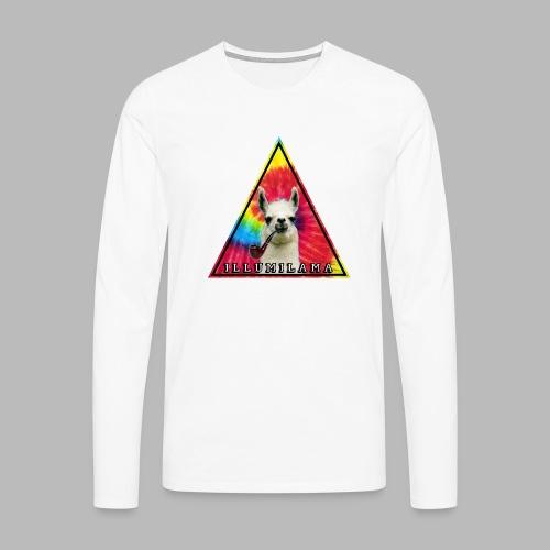 Illumilama logo T-shirt - Men's Premium Longsleeve Shirt