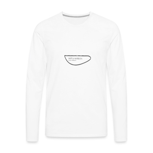 PATTI X MARQUSIA by Silver Clothing Co. - Herre premium T-shirt med lange ærmer