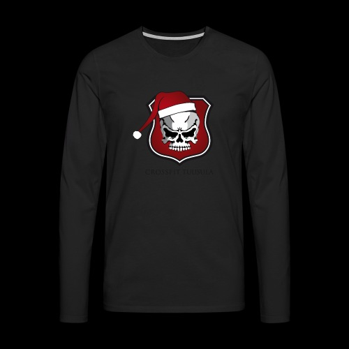 CrossFit Tuusula Xmas - Miesten premium pitkähihainen t-paita