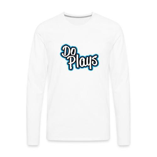 Mannen Baseball   Doplays - Mannen Premium shirt met lange mouwen