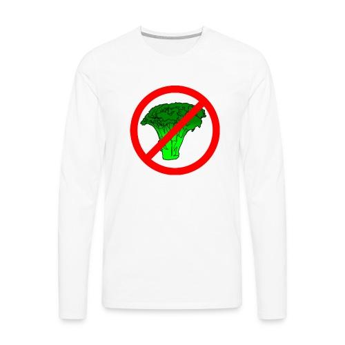 no broccoli allowed - Men's Premium Longsleeve Shirt