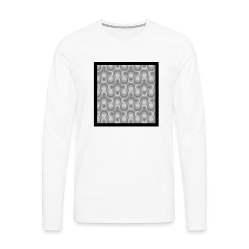 70th telly T-shirt V-Ausschnitt - Männer Premium Langarmshirt