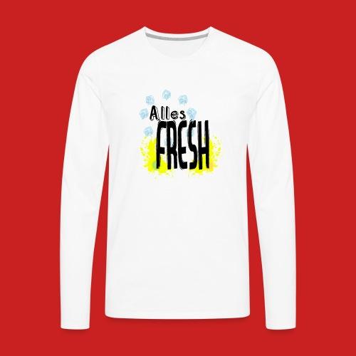 Alles Fresh / Frisch Sommer Eis - Männer Premium Langarmshirt