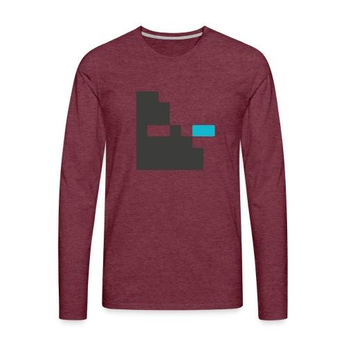 Mortu Logo - Mannen Premium shirt met lange mouwen