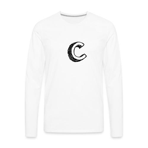 Cray MausPad - Männer Premium Langarmshirt