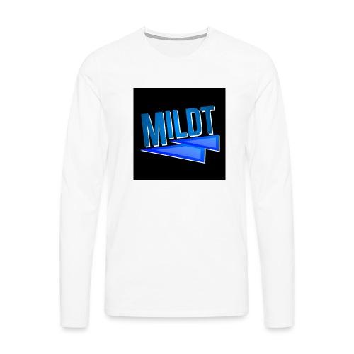 MILDT Muismat - Mannen Premium shirt met lange mouwen
