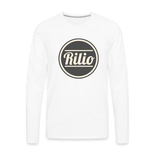 RILIO - Maglietta Premium a manica lunga da uomo
