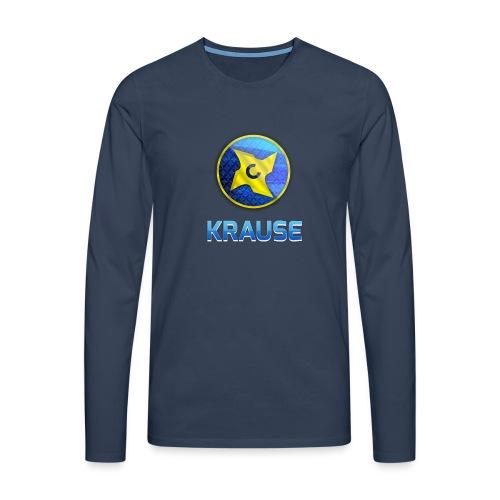 Krause shirt - Herre premium T-shirt med lange ærmer