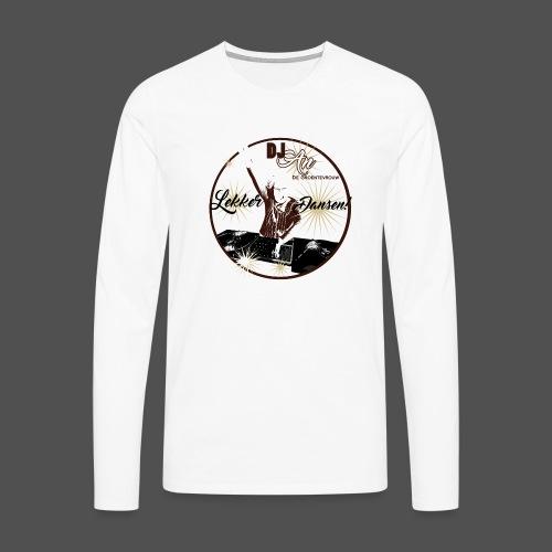 DJ An - Mannen Premium shirt met lange mouwen
