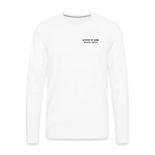 Goldgasse 9 - Front - Men's Premium Longsleeve Shirt
