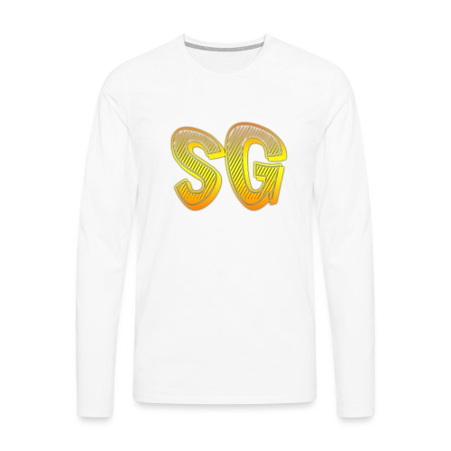 Felpa SG Donna - Maglietta Premium a manica lunga da uomo
