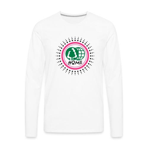 Planète home sweet home - Men's Premium Longsleeve Shirt