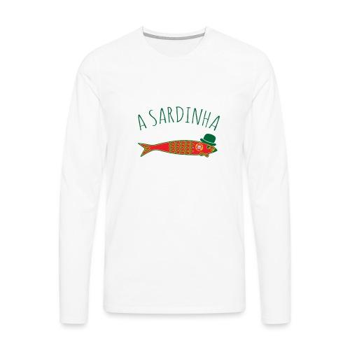 A Sardinha - Bandeira - T-shirt manches longues Premium Homme