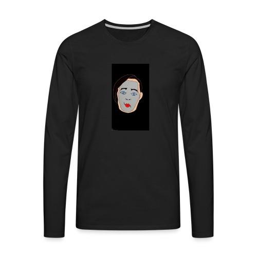 MIMO - Camiseta de manga larga premium hombre