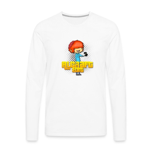 Diseño Simple AlCraft Edit - Camiseta de manga larga premium hombre