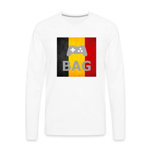 BelgiumAlpha Games - Men's Premium Longsleeve Shirt