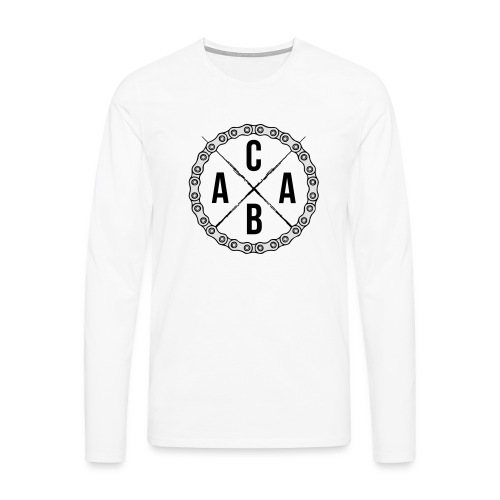 ACAB All Cyclists Are Beautiful - Männer Premium Langarmshirt