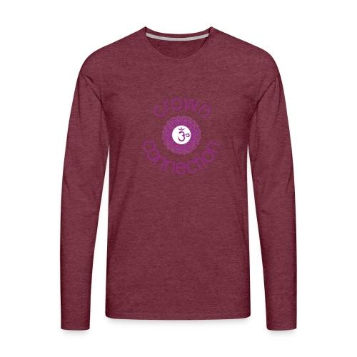 Crown Connection Logo - Men's Premium Longsleeve Shirt