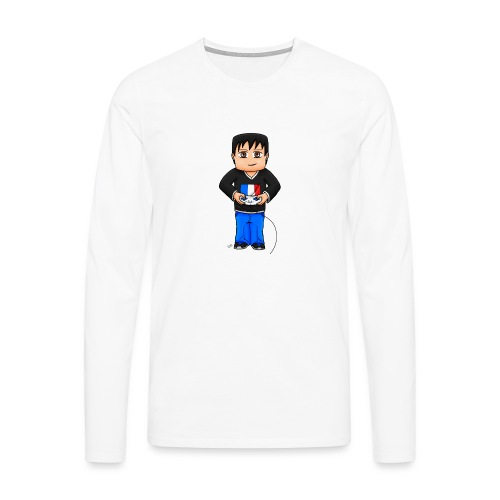 MaximeGaming - T-shirt manches longues Premium Homme