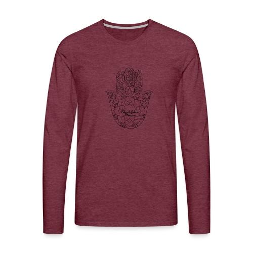 Celain&Galven-Mercure - Miesten premium pitkähihainen t-paita