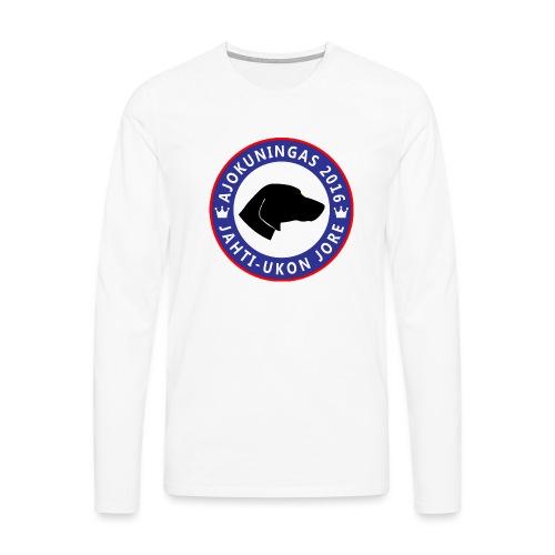 Ajokuningas t-paita - Miesten premium pitkähihainen t-paita