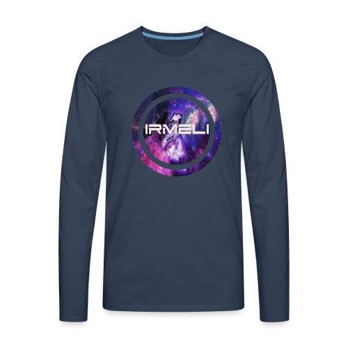 GALAXY LOGO - Miesten premium pitkähihainen t-paita