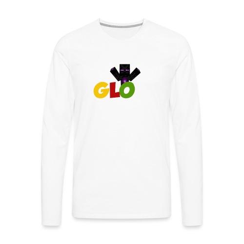 Minecraft - Glow - Männer Premium Langarmshirt
