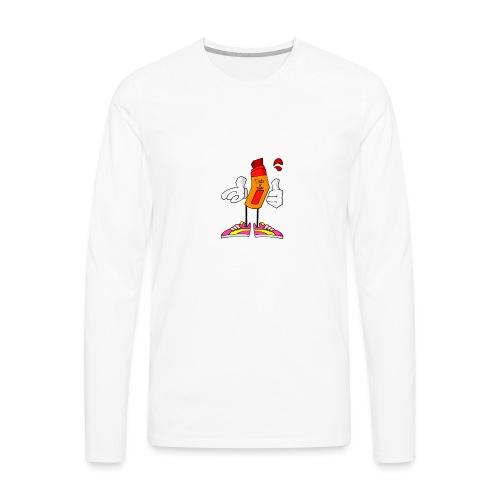 Drip N Drop - Maglietta Premium a manica lunga da uomo