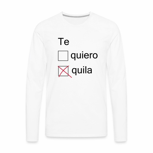 tequila - T-shirt manches longues Premium Homme