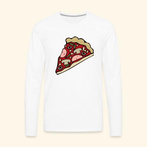 Pizza - T-shirt manches longues Premium Homme