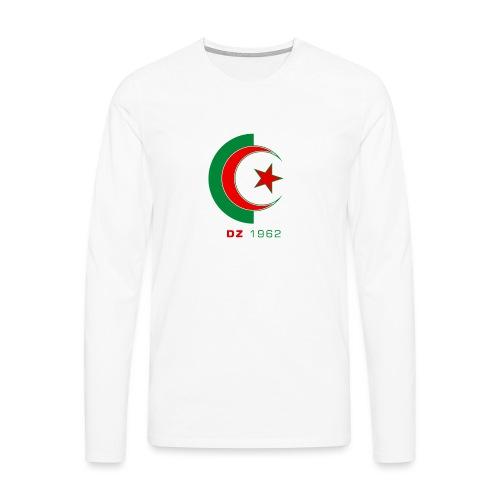 logo 3 sans fond dz1962 - T-shirt manches longues Premium Homme