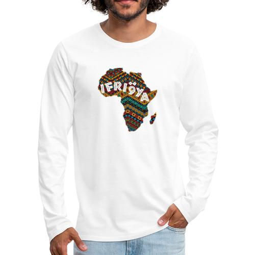 Africa - Ifriqya - T-shirt manches longues Premium Homme