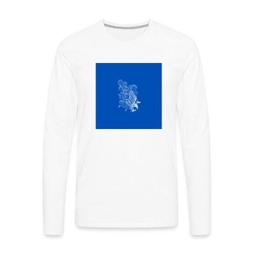 Windy Wings Blue - Men's Premium Longsleeve Shirt