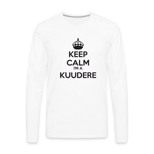 Kuudere keep calm - Men's Premium Longsleeve Shirt