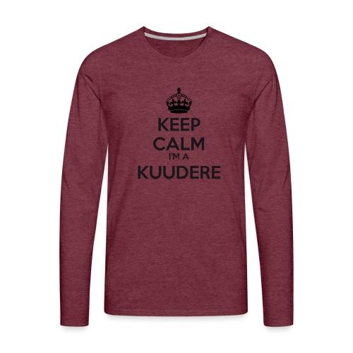Kuudere keep calm - Men's Premium Longsleeve Shirt