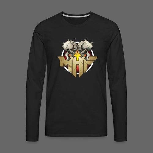 new mhf logo - Men's Premium Longsleeve Shirt