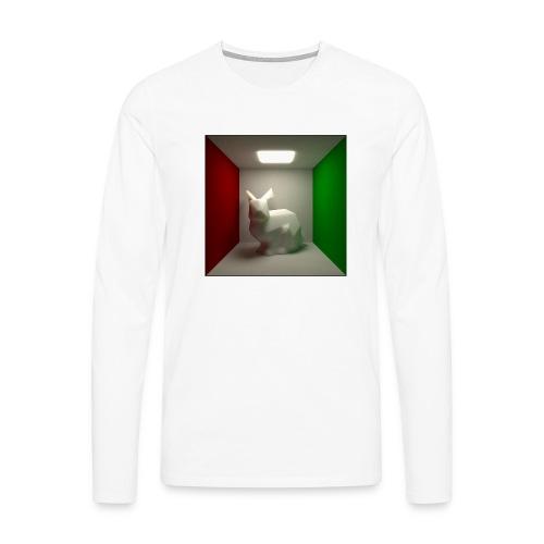 Bunny in a Box - Men's Premium Longsleeve Shirt